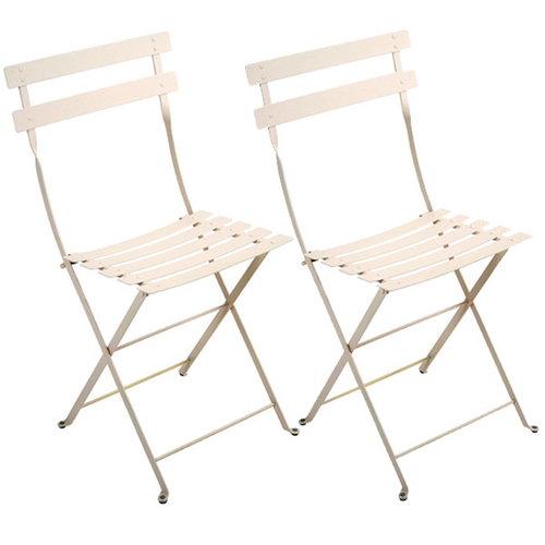 Fermob Bistro Metal chair, 2 pcs, linen
