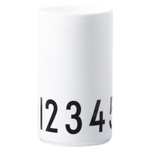 Design Letters Arne Jacobsen Vase 0-9, large