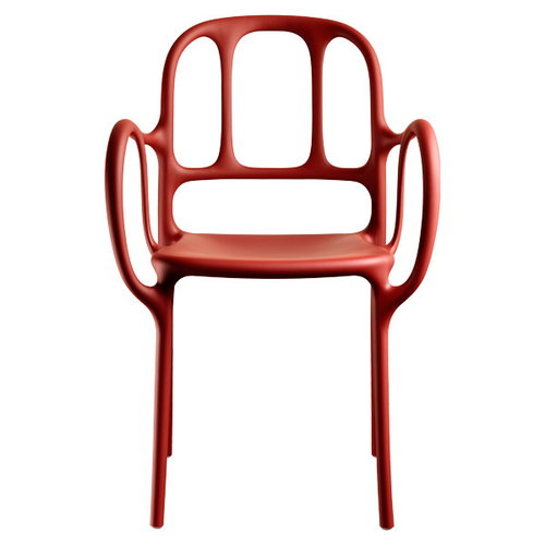 Magis Mila chair, red