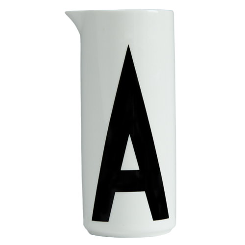 design letters arne jacobsen aqua jug a finnish design shop. Black Bedroom Furniture Sets. Home Design Ideas