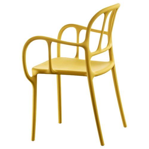 Magis Mila chair, yellow