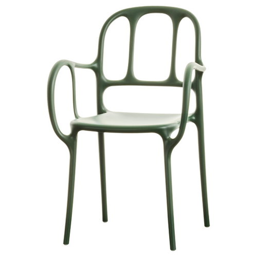 Magis Mila chair, green