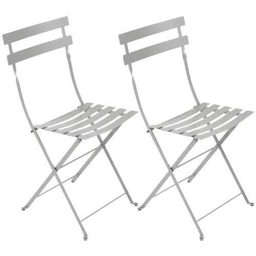 Fermob Bistro Metal chair, 2 pcs, steel grey