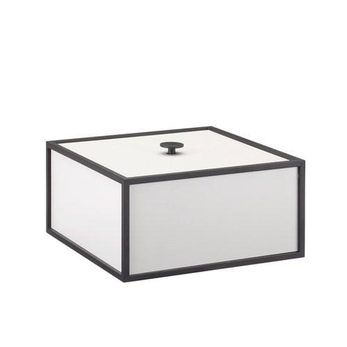 By Lassen Frame 20 laatikko, vaaleanharmaa