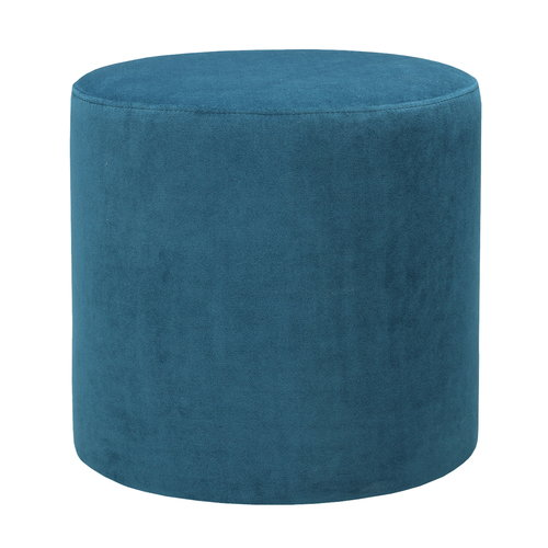 Hakola Moon pouf, small, teal