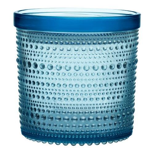 Iittala Kastehelmi jar 116 x 114 mm, light blue