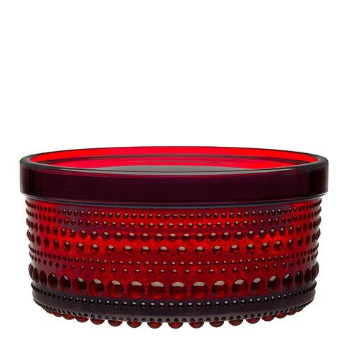 Iittala Kastehelmi jar 116 x 57 mm, cranberry