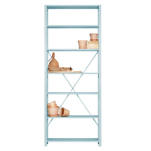 Lundia Open shelf Special Edition, high, aqua
