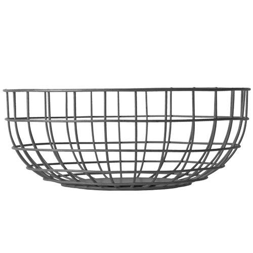Menu Norm Wire Bowl, black