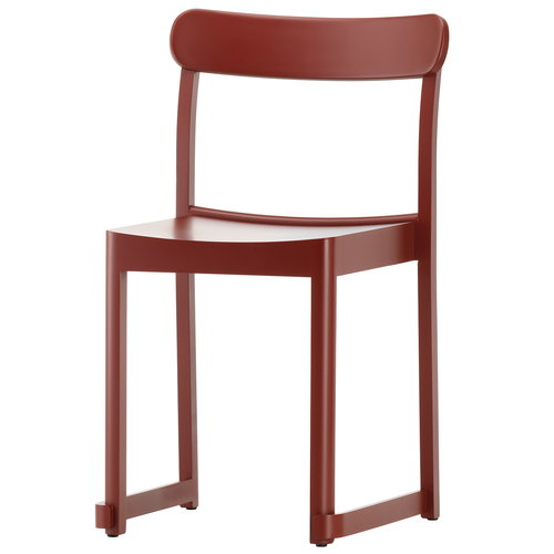 Artek  Atelier chair, dark red