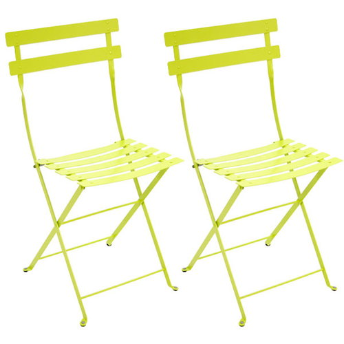 Fermob Bistro Metal chair, 2 pcs, verbena green