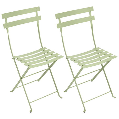 Fermob Bistro Metal tuoli, 2 kpl, willow green