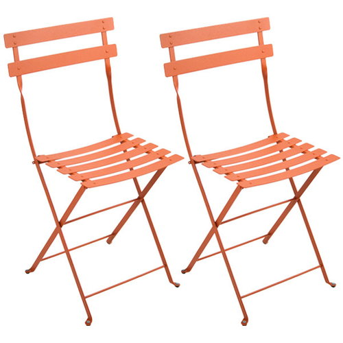 Fermob Bistro Metal chair, 2 pcs, carrot