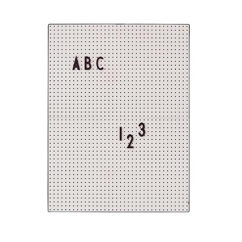 Design Letters Muistitaulu A4, harmaa