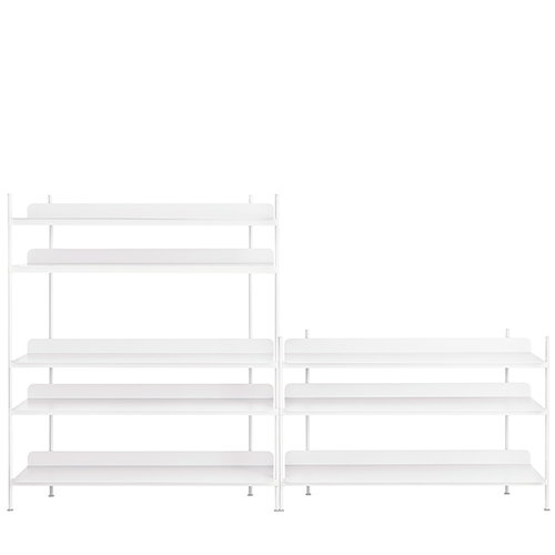Muuto Compile shelf, Configuration 7, white