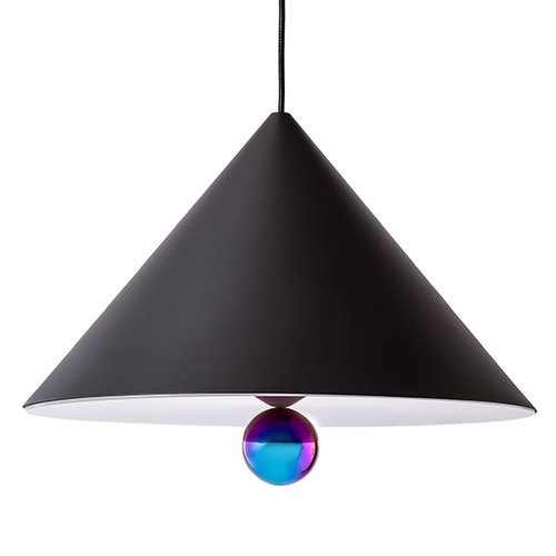 Petite Friture Cherry pendant, large, black