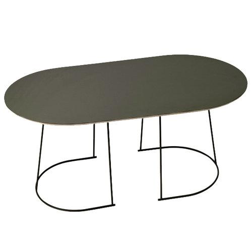 Muuto Airy coffee table, medium, black, older version