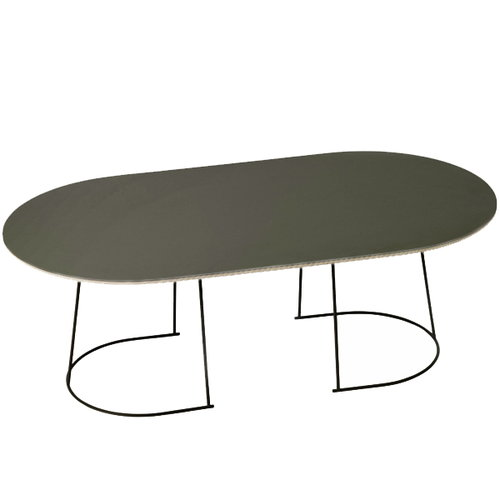 Muuto Airy coffee table, large, black