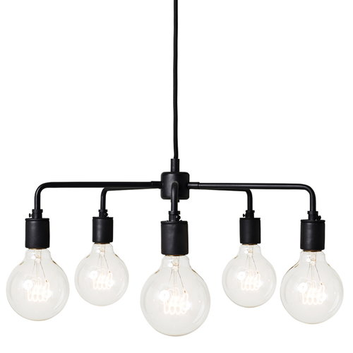 Menu Tribeca Leonard pendant lamp, black
