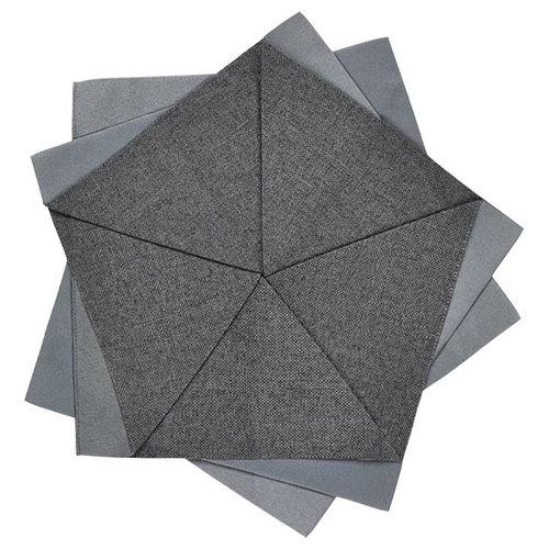 Iittala Iittala X Issey Miyake table flower 27 cm, dark grey