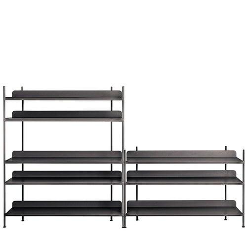 Muuto Compile shelf, Configuration 7, black