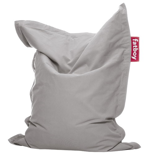 Fatboy Junior Stonewashed bean bag, silver grey