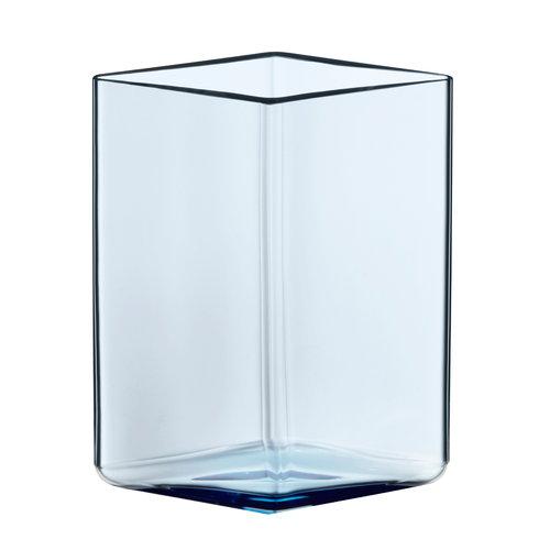 Iittala Ruutu maljakko 115 x 140 mm, vedensininen