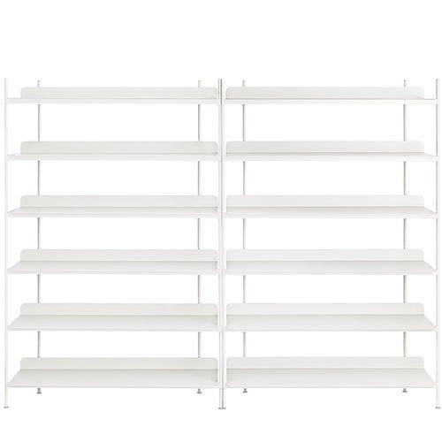 Muuto Compile shelf, Configuration 8, white