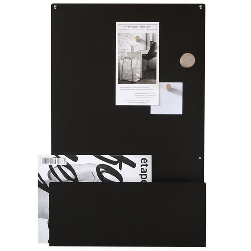 Everyday Design Memo  noteboard, black