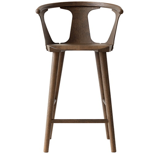 &Tradition In Between bar stool, 75 cm, smoked oak
