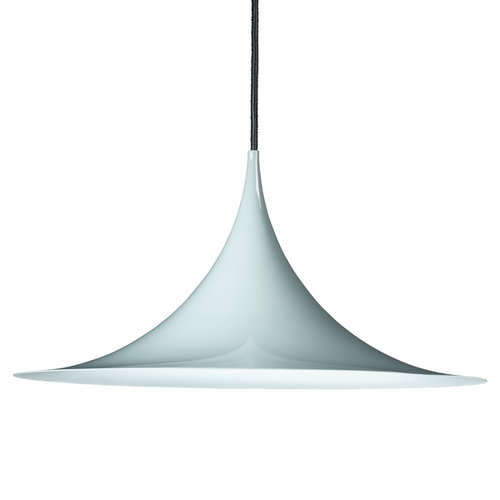 Gubi Semi pendant 47 cm, blue-grey