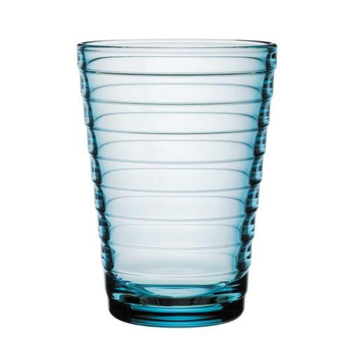 Iittala Bicchiere Aino Aalto 33 cl, celeste, 2 pz