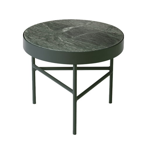 Ferm Living Marble table, small, green