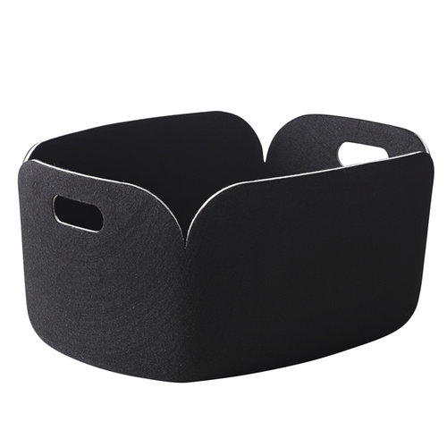 Muuto Restore storage basket, black