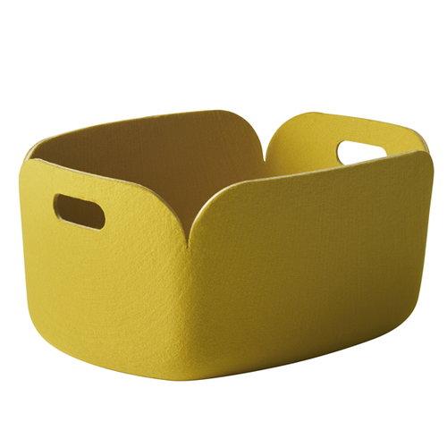 Muuto Restore storage basket, yellow