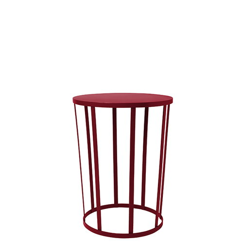 Petite Friture Hollo side table, burgundy