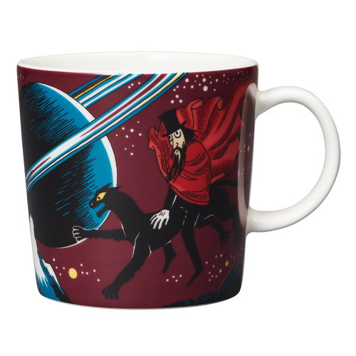 Arabia  Moomin mug The Hobgoblin, purple