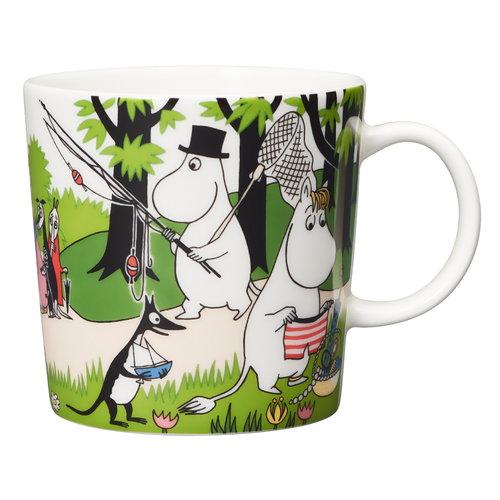 Arabia Moomin  mug 0,3 L, Going on vacation