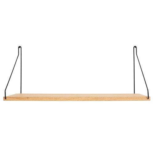 Frama D27 wall shelf, 60 cm, black