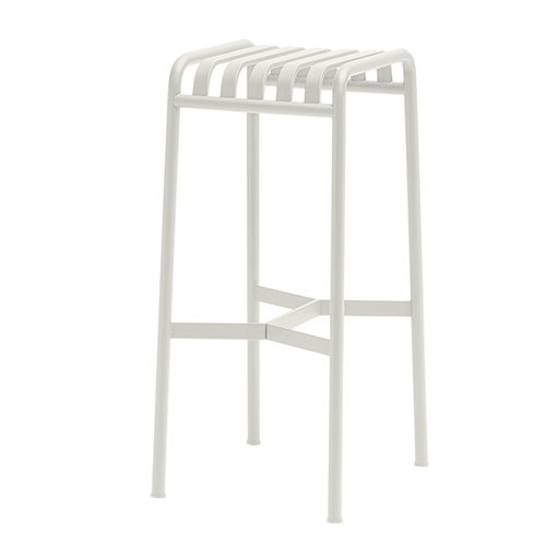 Hay Palissade bar stool, cream white