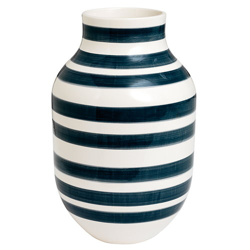 Kähler Omaggio vase, large, granite grey