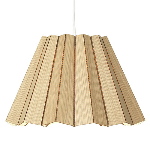 Andbros Model No. 1 pendant lamp, oak