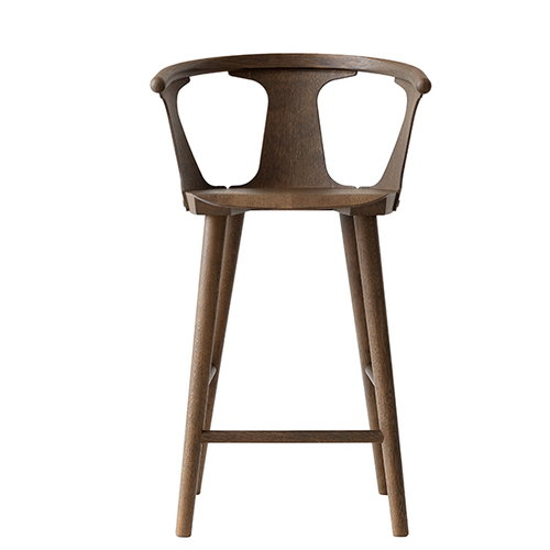 &Tradition In Between bar stool, 65 cm, smoked oak