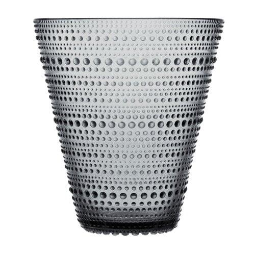 Iittala Kastehelmi vase 154 mm, grey