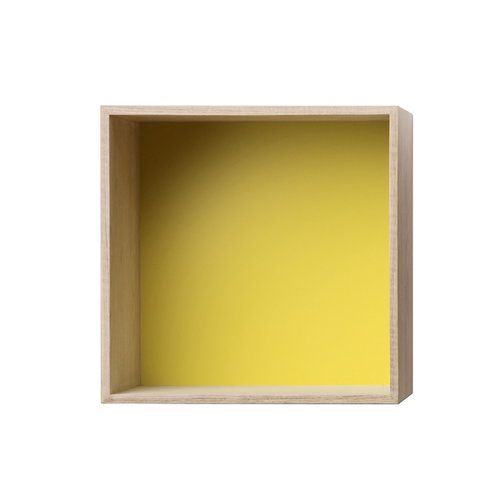 Muuto Mini Stacked, medium, ash/yellow