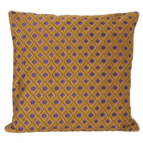 Ferm Living Salon cushion, 40 x 40 cm, Mosaic, curry