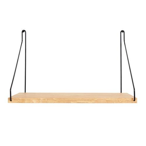 Frama D27 wall shelf, 40 cm, black