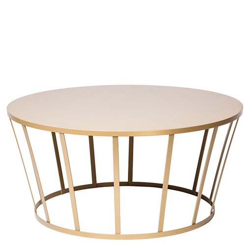 Petite Friture Hollo coffee table, gold