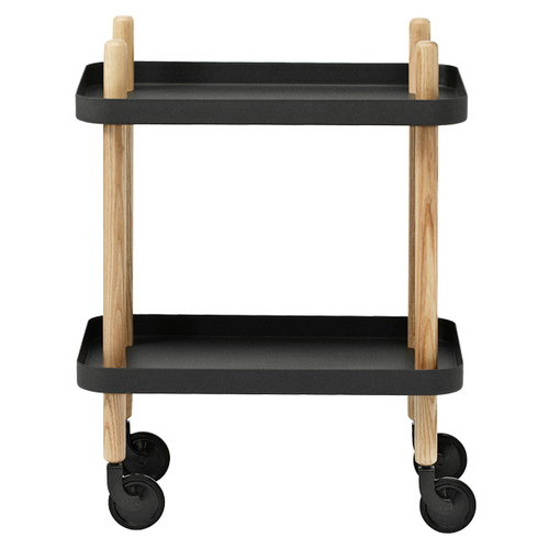 Normann Copenhagen Block trolley, black