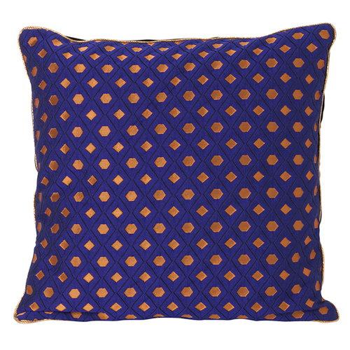 Ferm Living Salon cushion, 40 x 40 cm, Mosaic, blue